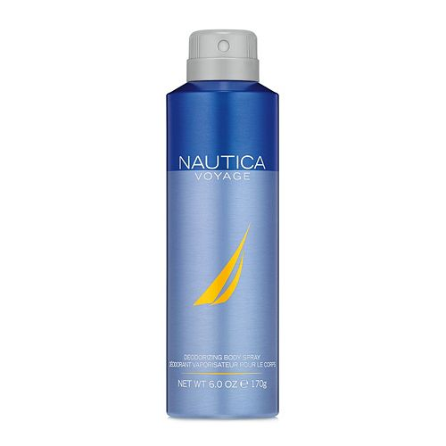 Nautica Voyage Men's Deodorizing Body Spray