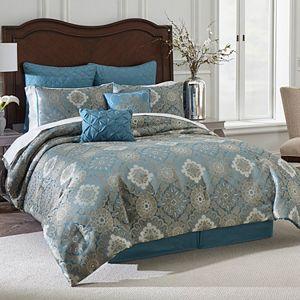 VCNY 7-piece Blue Tile Comforter Set