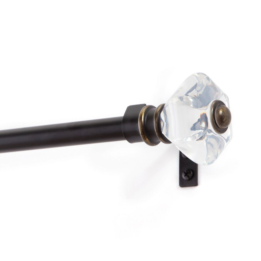 Kenney Knob Adjustable Curtain Rod
