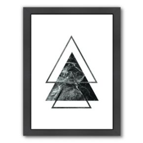 Americanflat Geometric Art 55 Framed Wall Art