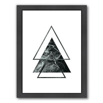 Americanflat Geometric Art 55 Framed Wall Art