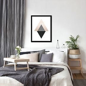 Americanflat Geometric Art 56 Framed Wall Art