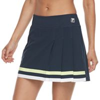 Women's FILA SPORT® Stripe Trim Pleated Skort