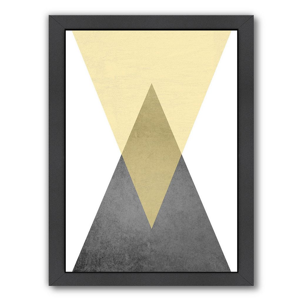 Americanflat Geometric Art 57 Framed Wall Art