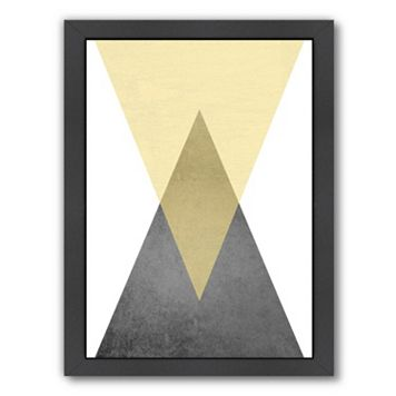Americanflat Geometric Art 57 Framed Wall Art