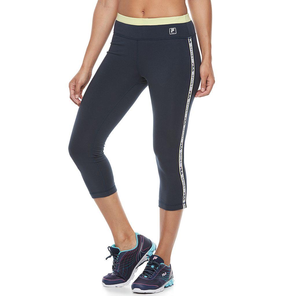Women's FILA SPORT® Logo Capri Leggings