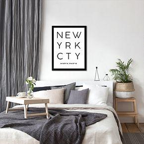 "Americanflat ""New York City"" Framed Wall Art"
