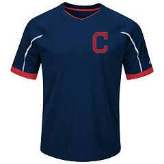 Big & Tall Majestic Cleveland Indians Favorite Team Tee