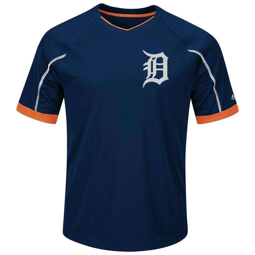 Big & Tall Majestic Detroit Tigers Favorite Team Tee