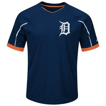 Big & Tall Majestic Detroit Tigers Favorite Team Tee