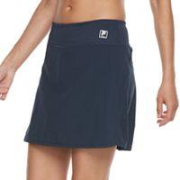 Women's FILA SPORT® Lasercut Side Woven Skort