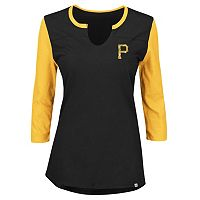 Plus Size Majestic Pittsburgh Pirates Raglan Tee