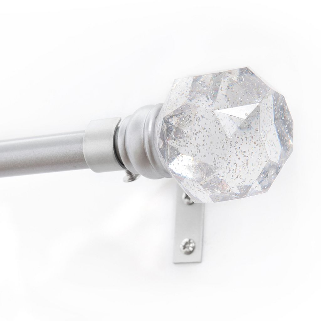 Kenney Rock Candy Adjustable Curtain Rod
