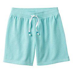 Girls 7-16 & Plus Size SO® Glitter Midi Shorts