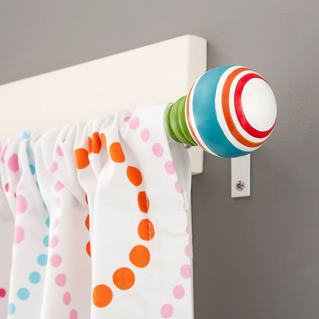 Kenney Draw The Line Adjustable Curtain Rod