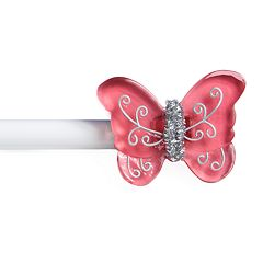 Kenney Butterfly Adjustable Curtain Rod