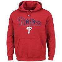 Big & Tall Majestic Philadelphia Phillies Wordmark Hoodie