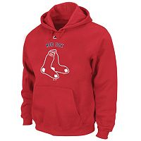 Big & Tall Majestic Boston Red Sox Wordmark Hoodie