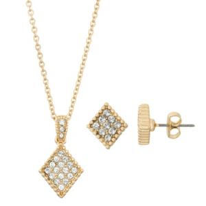 Brilliance Kite Jewelry Set with Swarovski Crystals