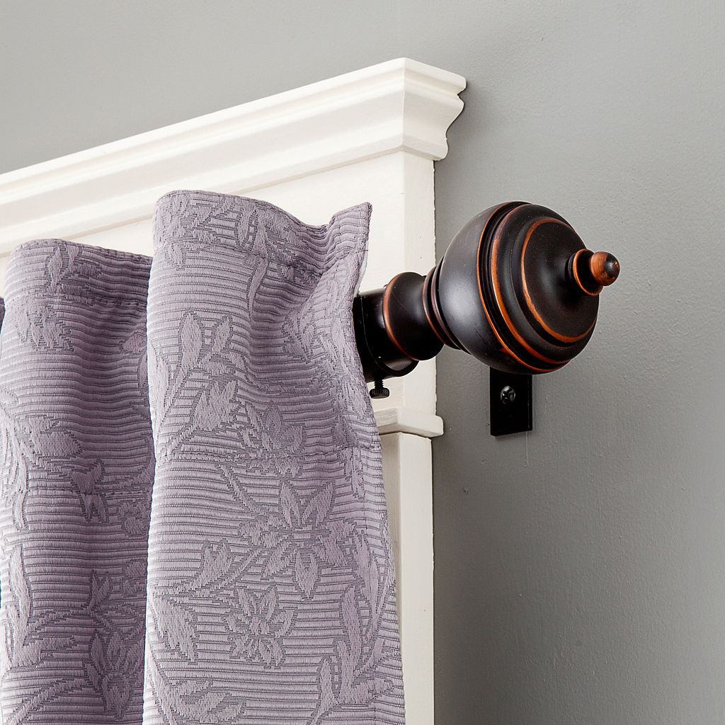 Kenney Manor Adjustable Curtain Rod