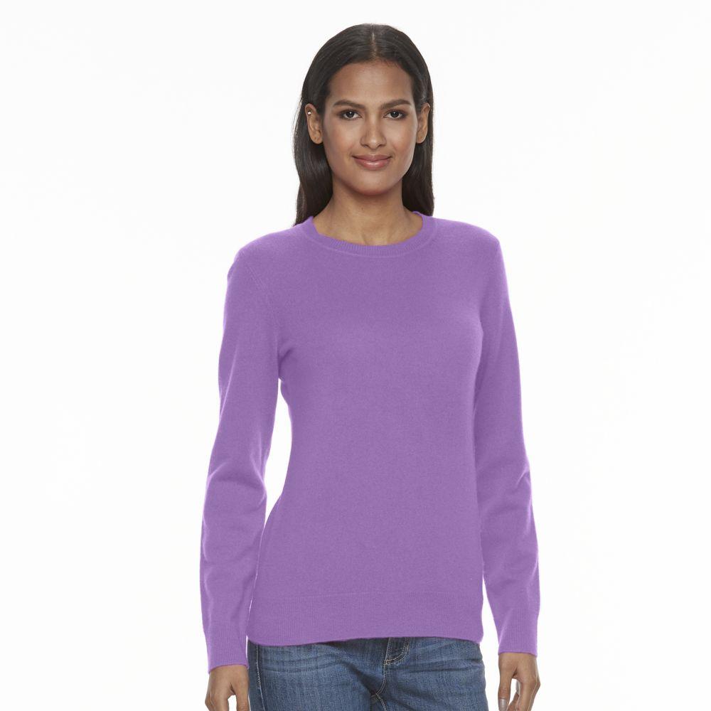 Apt. 9® Cashmere Crewneck Sweater