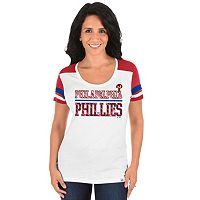 Plus Size Majestic Philadelphia Phillies Striated Tee