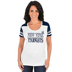 Plus Size Majestic New York Yankees Striated Tee