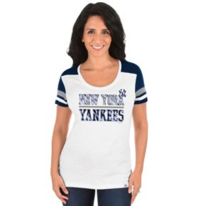 Plus Size Majestic New York Yankees Striated Tee