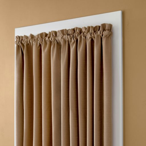 eclipse No-Tool Room Darkening Adjustable Wrap Curtain Rod - 28'' - 48''