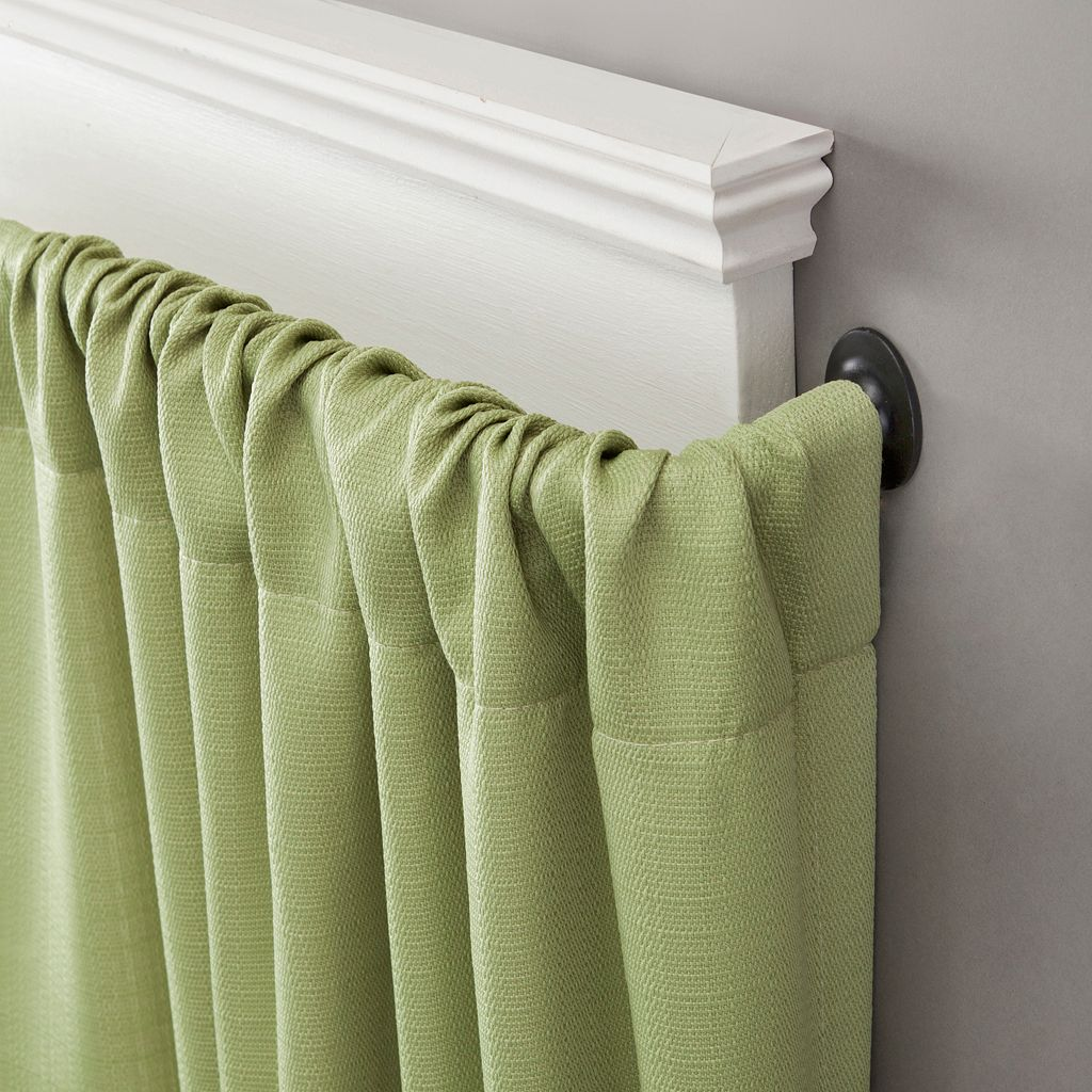 eclipse Room Darkening Adjustable Wrap Curtain Rod