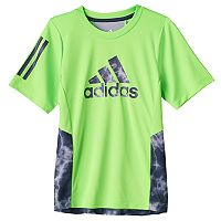 Boys 4-7x adidas Lightening Print Color-Block Tee