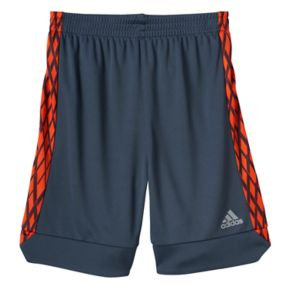 Boys 4-7x adidas Climalite Net Print Athletic Shorts