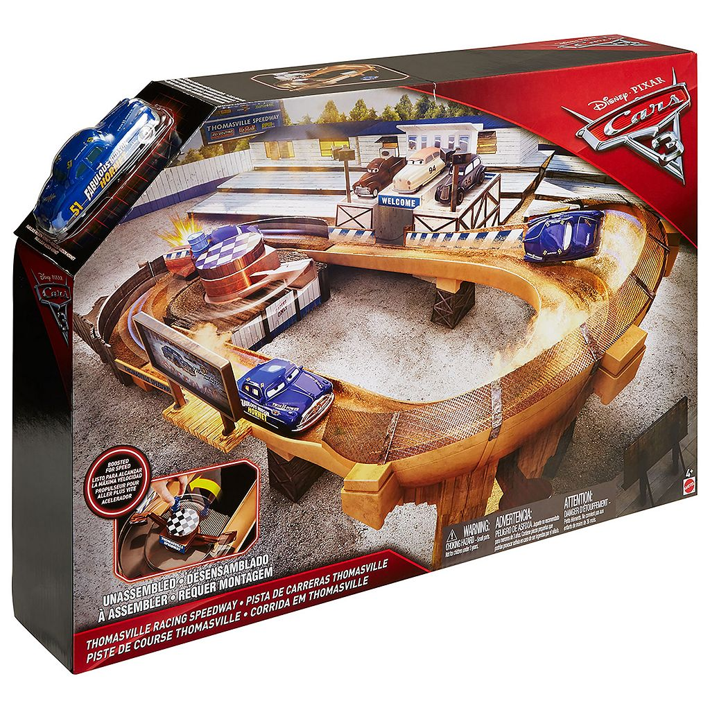 Disney / Pixar Cars 3 Thomasville Racing Speedway Track Set