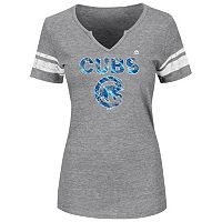 Women's Majestic Chicago Cubs Favorite Team Tee