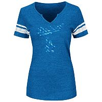Women's Majestic Los Angeles Dodgers Favorite Team Tee