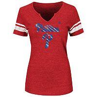 Women's Majestic Philadelphia Phillies Favorite Team Tee
