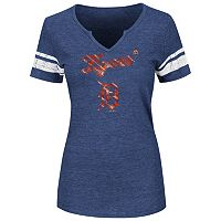 Women's Majestic Detroit Tigers Favorite Team Tee