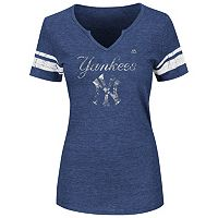 Women's Majestic New York Yankees Favorite Team Tee