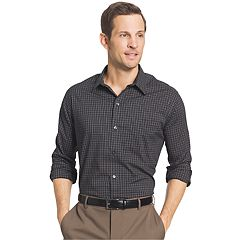 Men's Van Heusen Traveler Classic-Fit Stretch No-Iron Button-Down Shirt