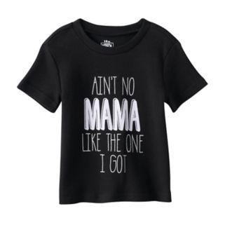 """Baby Babies With Attitude """"Ain't No Mama Like the One I Got"""" Graphic Tee"""