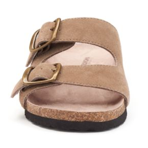 SONOMA Goods for Life™ Women's Leather Slide Sandals