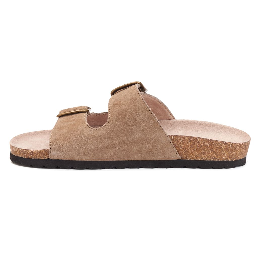 SONOMA Goods for Life™ Women's Leather Slide Sandals