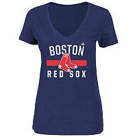 Plus Size Boston Red Sox Team Tee