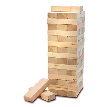 American Vintage Stacking Wood Blocks Game