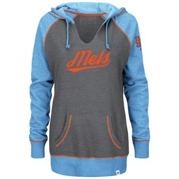 Plus Size Majestic New York Mets Sport Hoodie