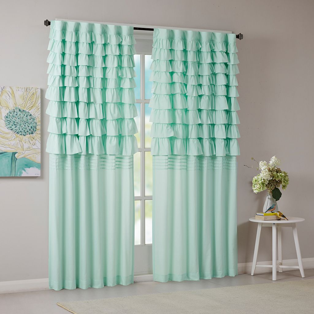 Intelligent Design Kacie Ruched Curtain