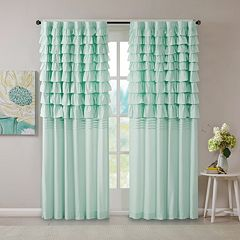 Intelligent Design Kacie Ruched Window Curtain