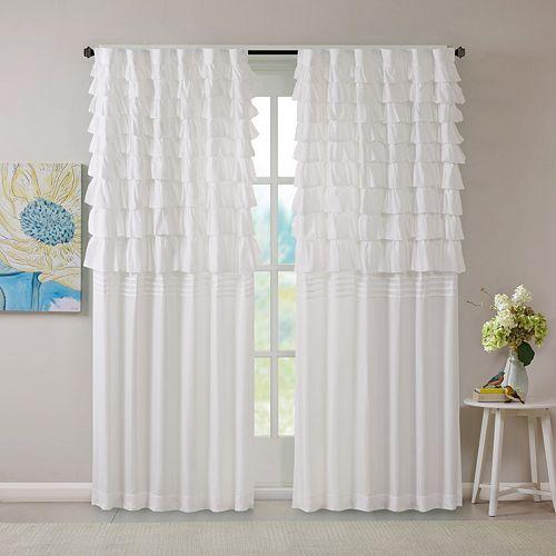 Intelligent Design Kacie Ruched Window Curtain