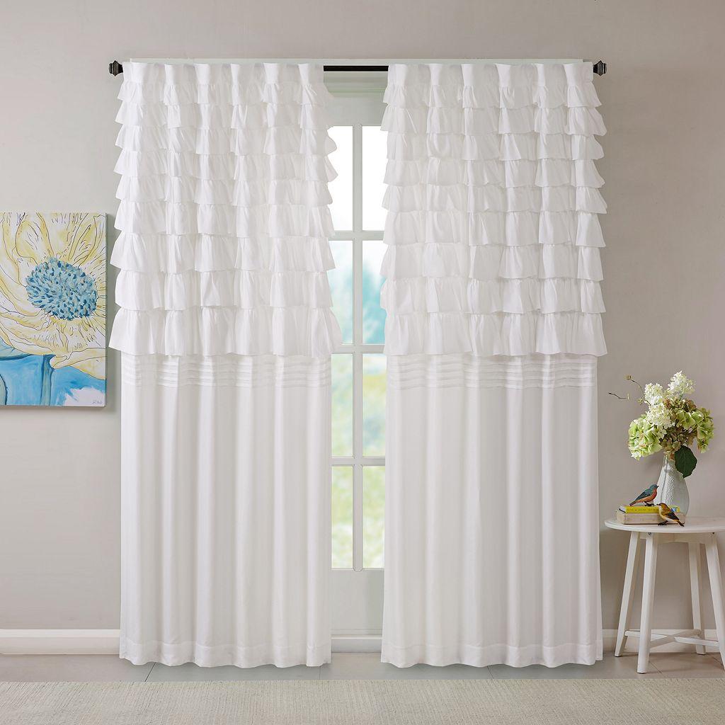 Intelligent Design Demi Ruched Curtain