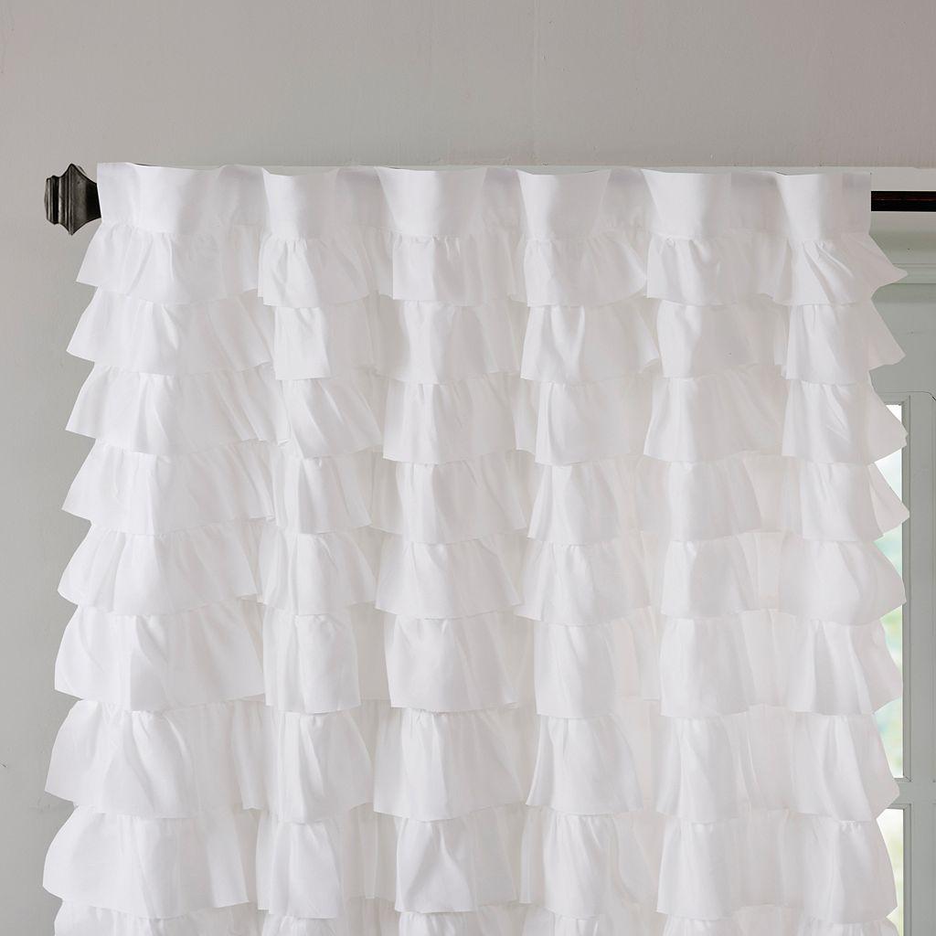 Intelligent Design Demi Ruched Window Curtain